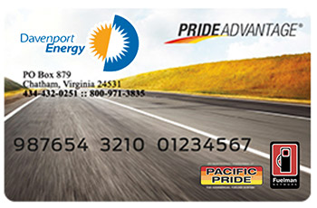 Pacific Advantage card